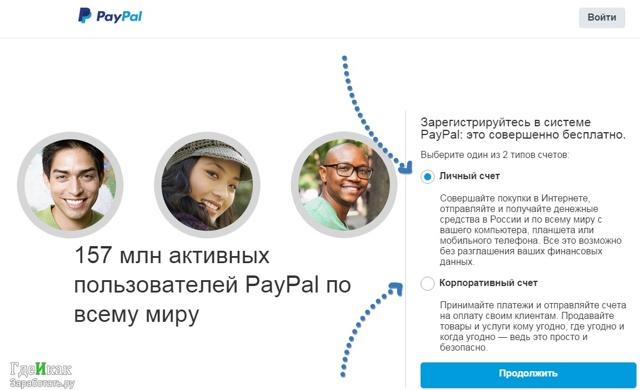 Paypal — что это такое, регистрация, пополнение счета и ...
