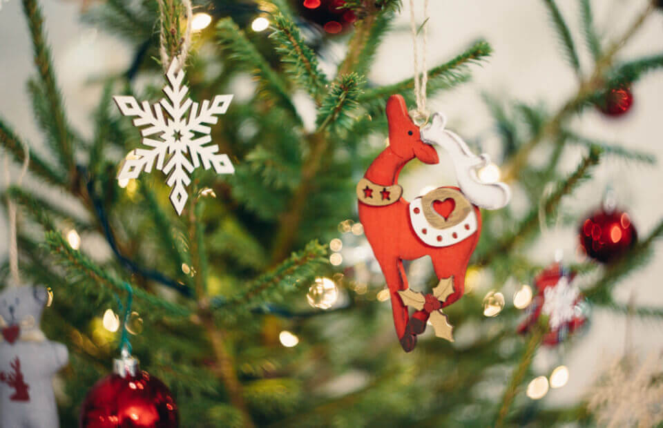 Продажа новогодних украшений