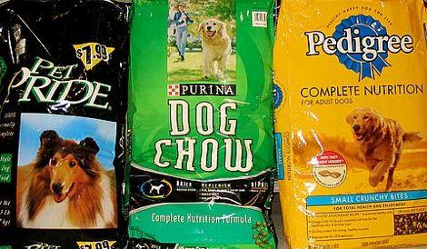 продажа кормов для собак