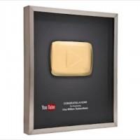 Как получить кнопку-награду от YouTube?