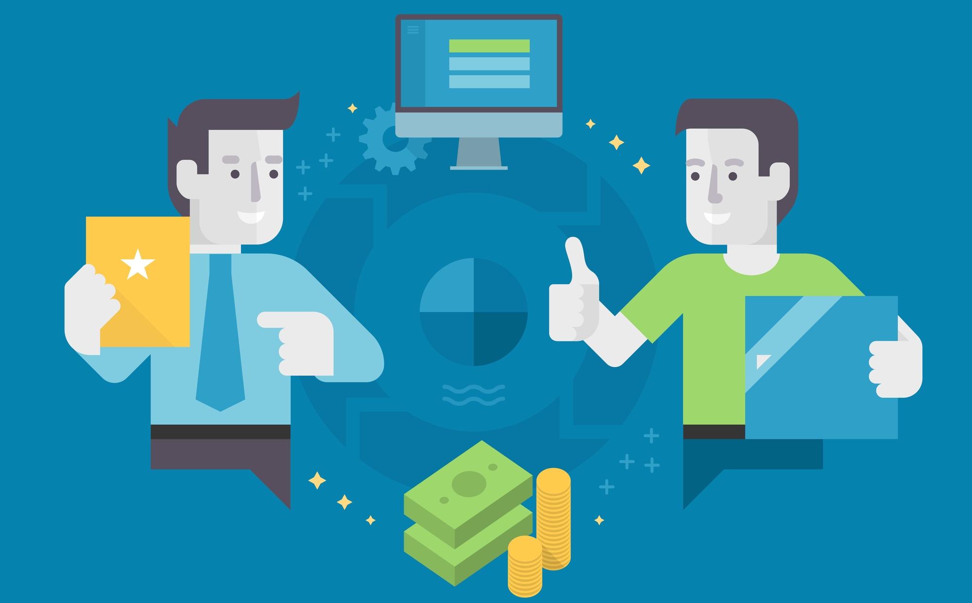 Depositphotos 56466143 l 2015 - Как выбрать партнерскую программу для заработка + мой список партнерок, которые платят
