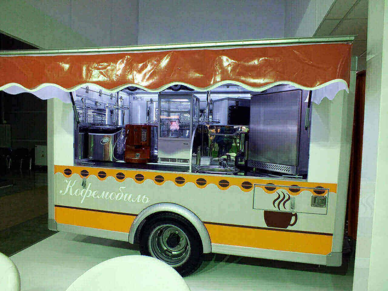 фургон с кофе