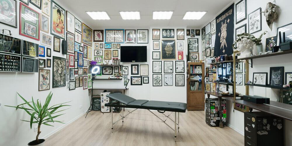 Выбор помещения для тату-салона